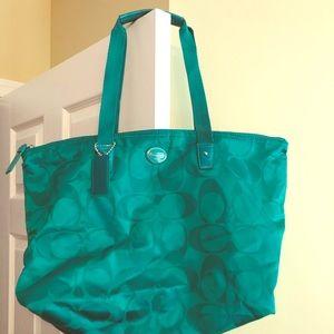 Canvas Coach bag